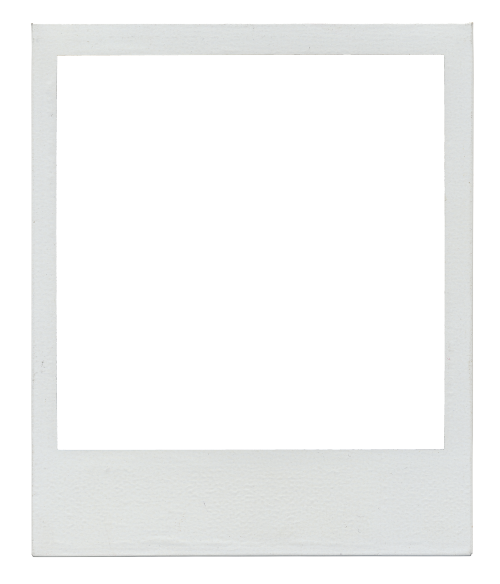 Transparent polaroid template for magnets