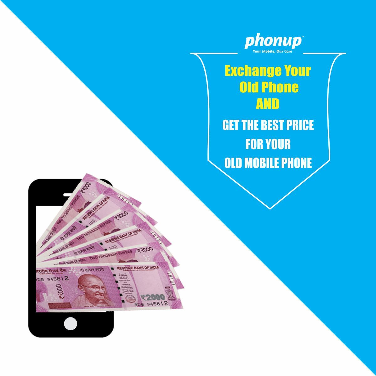 Exchange your old phone get best price for your old mobile