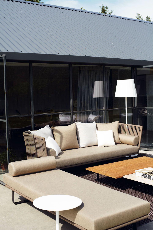 Kettal Bitta 2 Seater Sofá Modern Outdoor Sofas