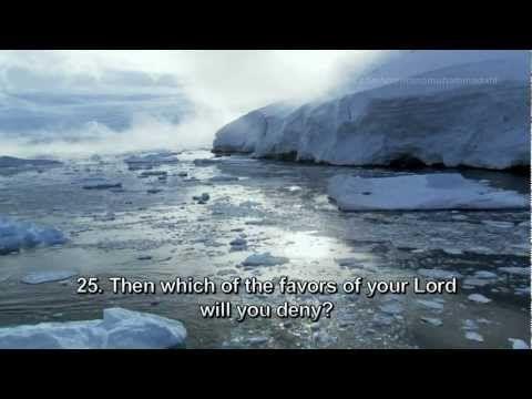 I love the video! Surah Rahman - Mishary Rashid Al Afasy