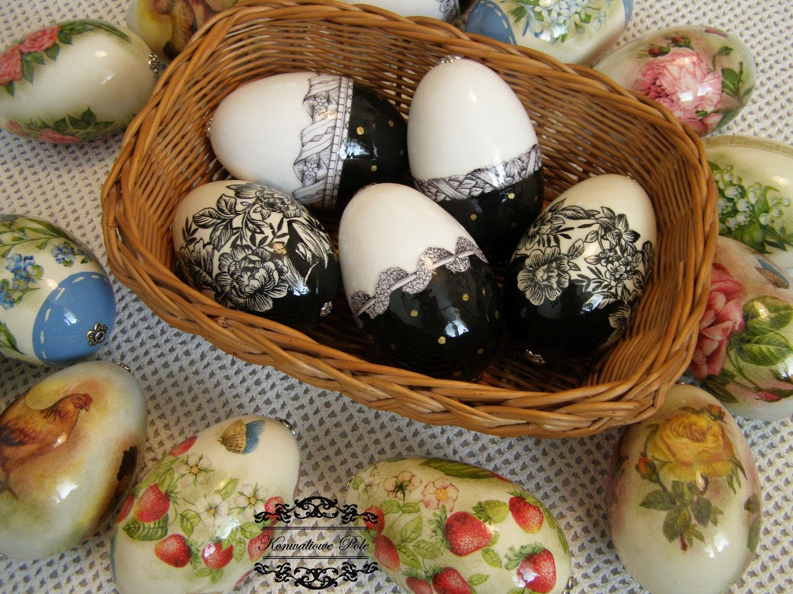 Strona Glowna Blox Pl Decoupage Pysanky Eggs Easter