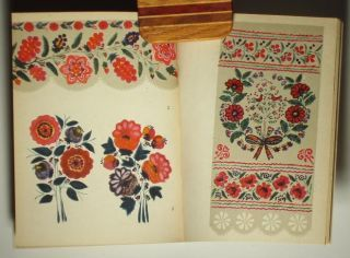 Book Ukrainian Folk Art Painting Decorative Floral Style opean Peasant Design