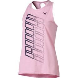 Photo of Puma Women's T-Shirt Twist It Logo Tank, Size S In Pale Pink Heather, Size S In Pale Pink Heather Pu