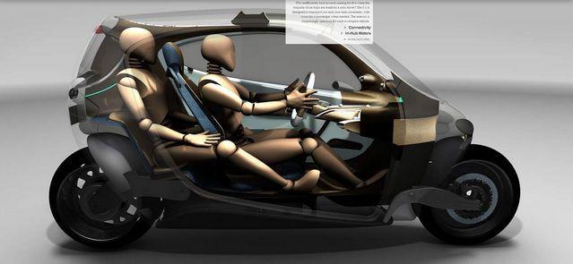 Lit Motors C-1 - Un vehiculo que podria cambiar la industria
