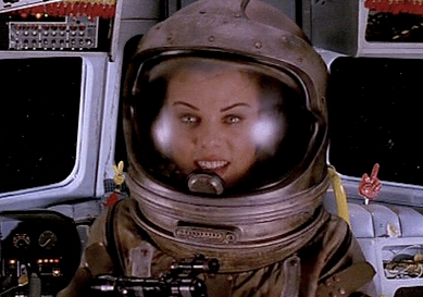 Space Truckers 1996 Space Suit Space Girl Vintage Space
