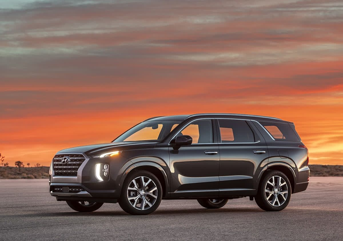 The 2020 Hyundai Palisade offers seating for up to eight