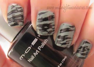 Midnight Manicures: MASH Nail Art Polish, 2012 Plates and Other Accessories.  Click through to see the whole review.