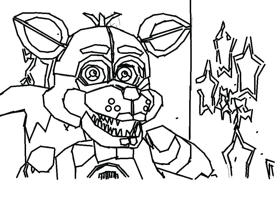 Various Five Nights At Freddy S Coloring Pages To Your Kids Free Coloring Sheets Fnaf Coloring Pages Coloring Pages Cartoon Coloring Pages