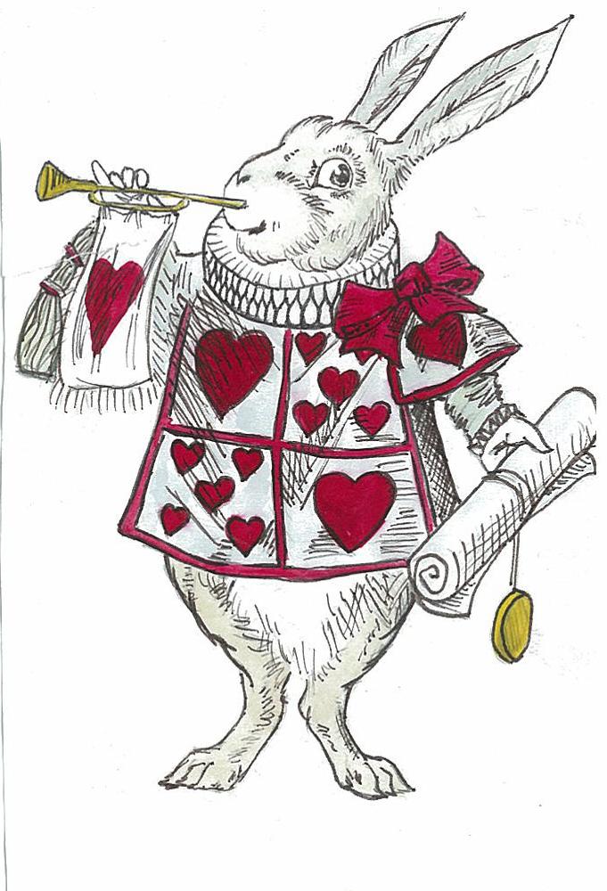 Alice In Wonderland White Rabbit By Blackspindl8 D68dd5s Png 681