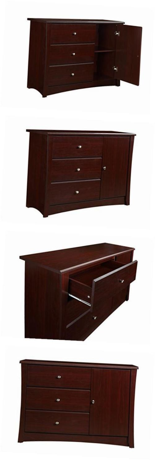 Storkcraft Crescent 3 Drawer Combo Dresser Cherry Baby And Crescents
