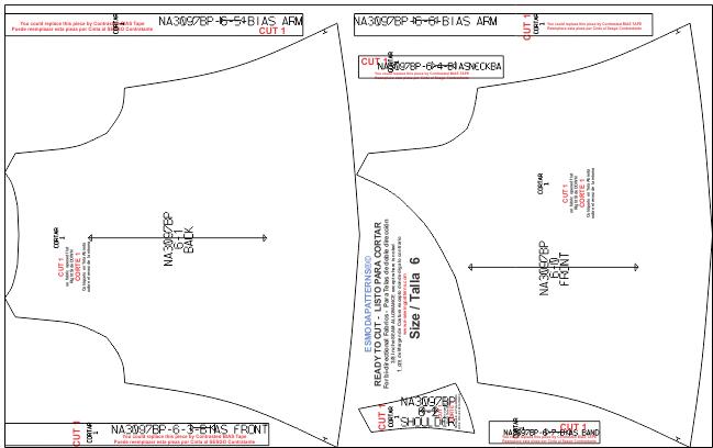 Descarga gratis los Moldes de blusa y short tipo casual para niñas y jovencitas disponibles en 8 tallas desde los 2 a los 14 años