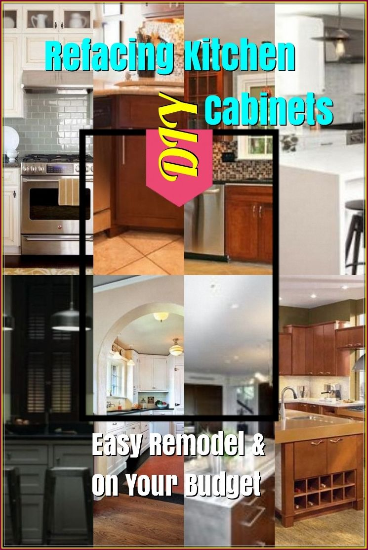 Refacing Kitchen Cabinets Diy To Change A New Look Refacing Kitchen Cabinets Diy Refacing Kitchen Cabinets Kitchen Cabinets