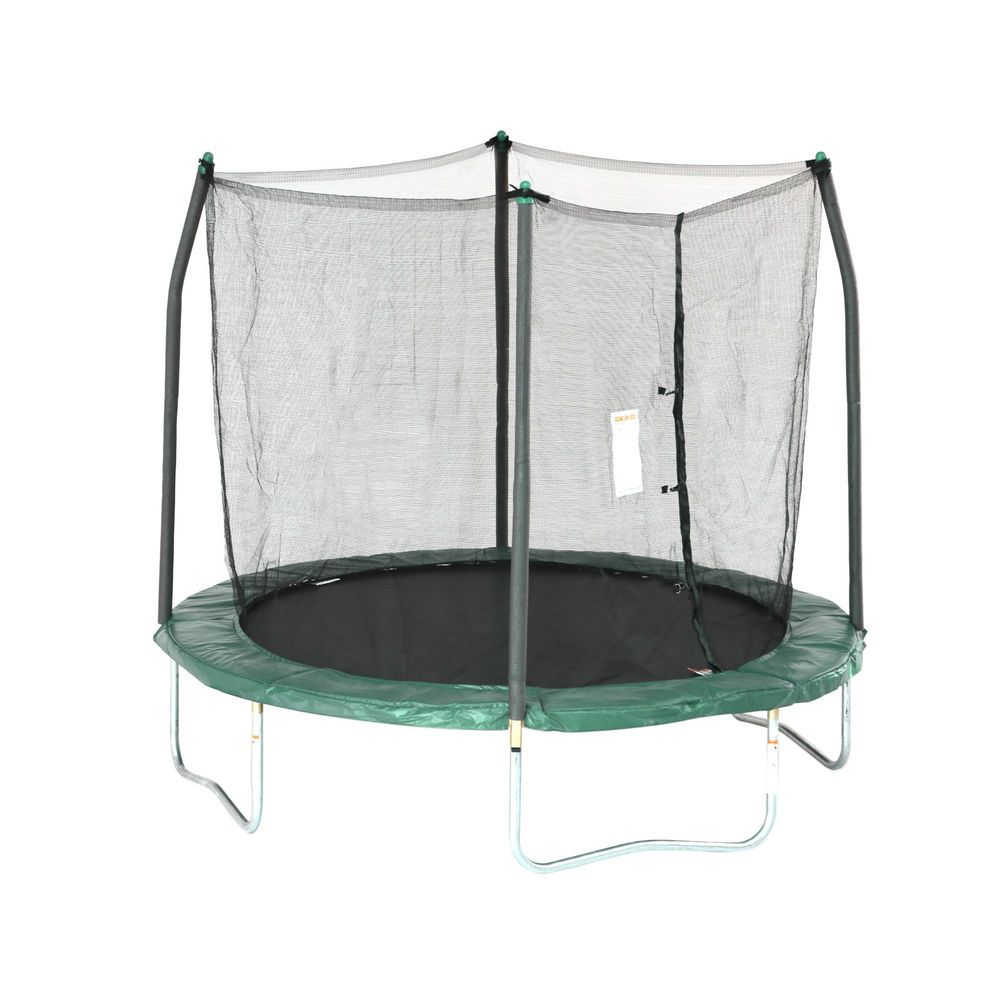 Trampoline Safety Enclosure 8Ft Green Round Jumping