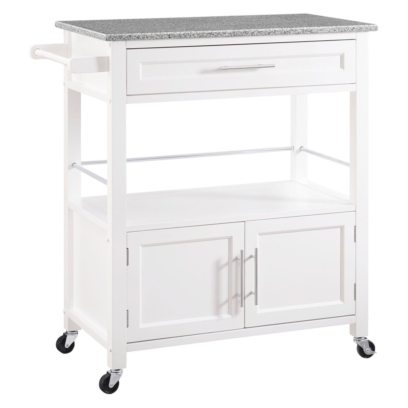 Linon Cameron Kitchen Cart With Granite Top Products In