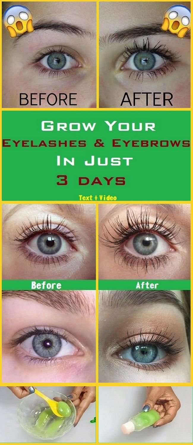 GROW YOUR EYELASHES & EYEBROWS IN JUST 3 DAYS, EYELASH AND ...