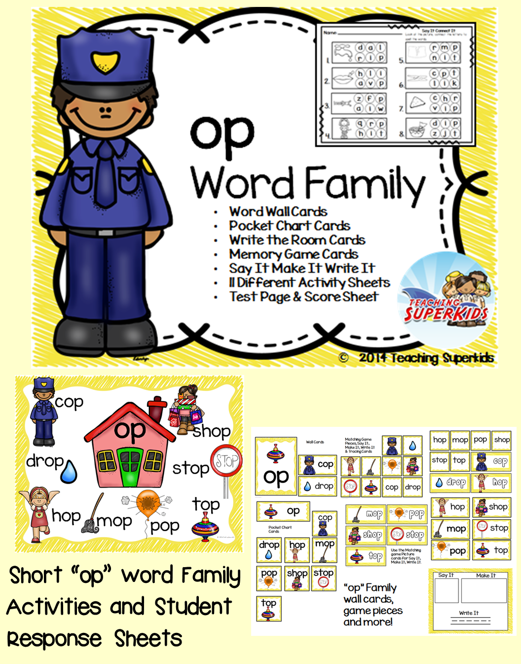 Op Word Family Centers