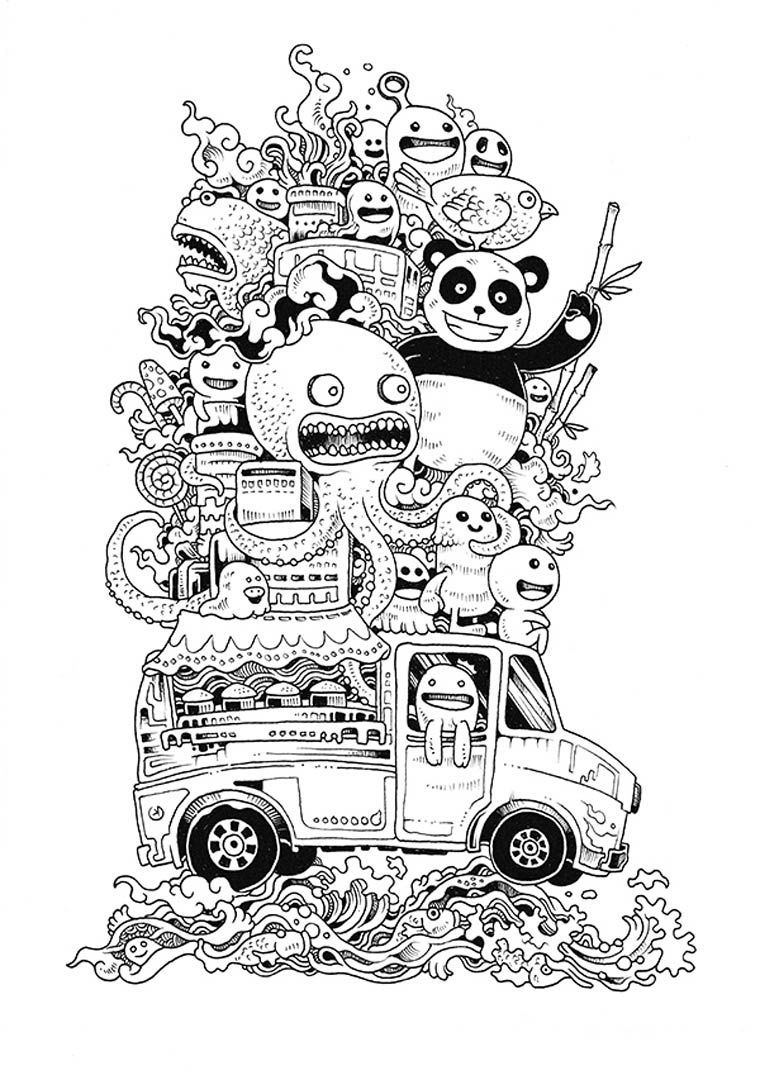 25 Marvelous Photo Of Complex Coloring Pages Coloring Pages