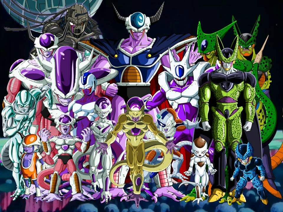 The Frieza Race And All Of Its Members Anime Dragon Ball Super Frieza Race Dragon Ball Artwork