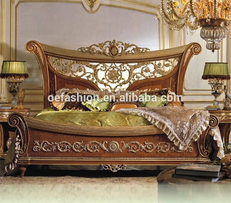 Oe Fashion Italy Luxury Design Furniture Indoor Wood Hand Carved
