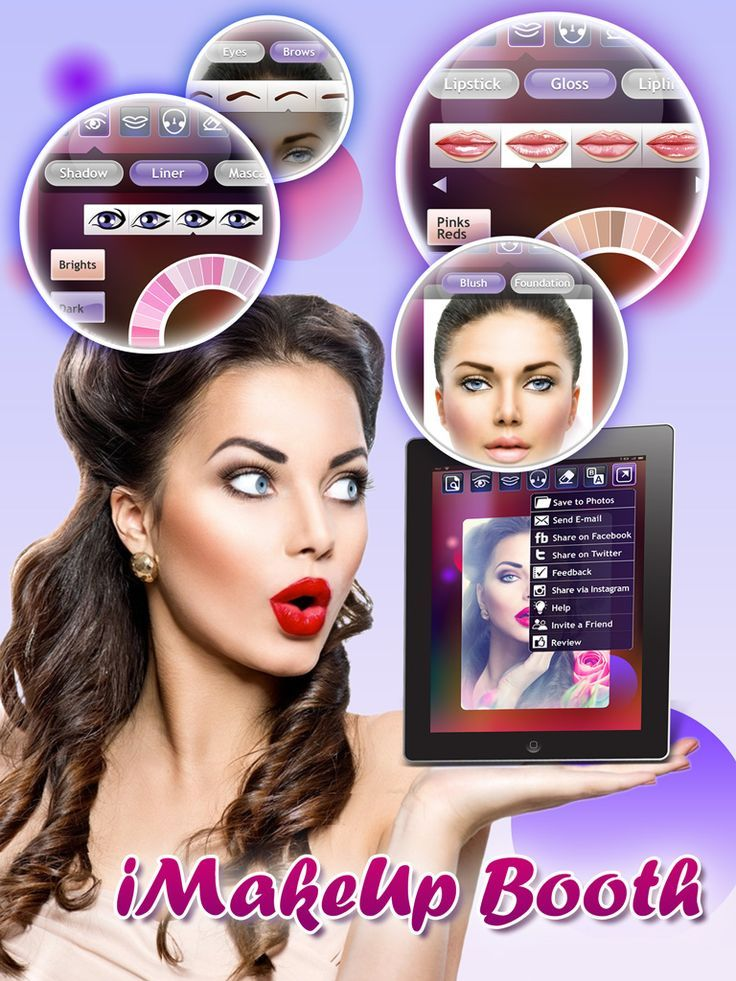 Enjoy the most simple and accurate makeup app in the app