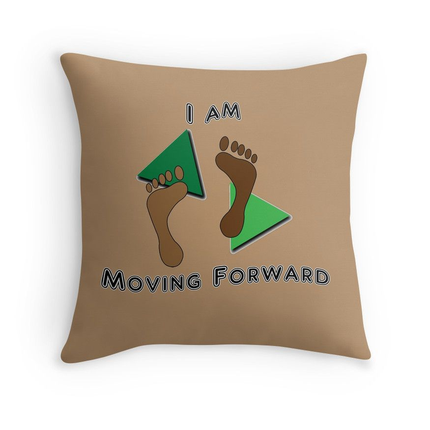 Moving Forward #throw #pillow by Judi Saunders