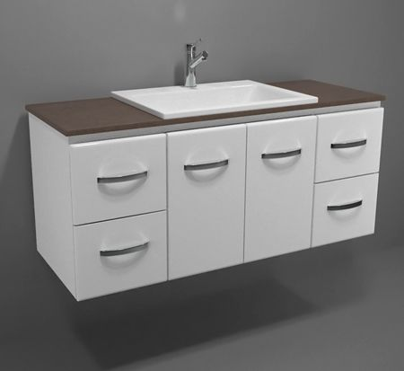 Gateway 1200 Wall Hung Vanity With Caesarstone Top Bathroomware House Bathrooms Pinterest