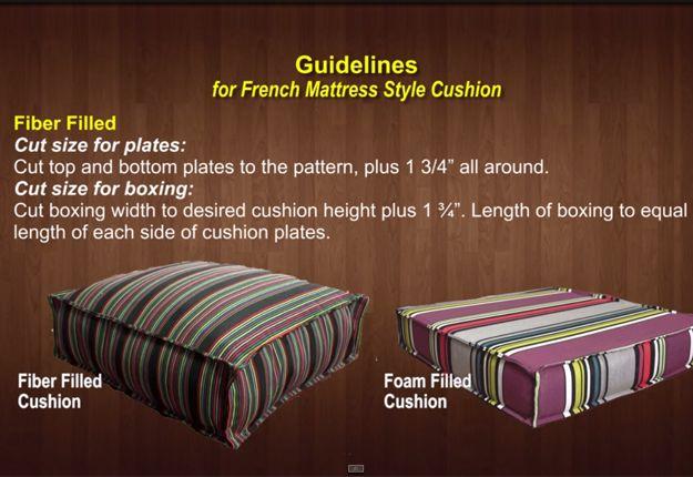 Easy Diy Outdoor Cushion Covers Diy Outdoor Cushions Diy Patio Furniture Cushions Diy Cushion Covers
