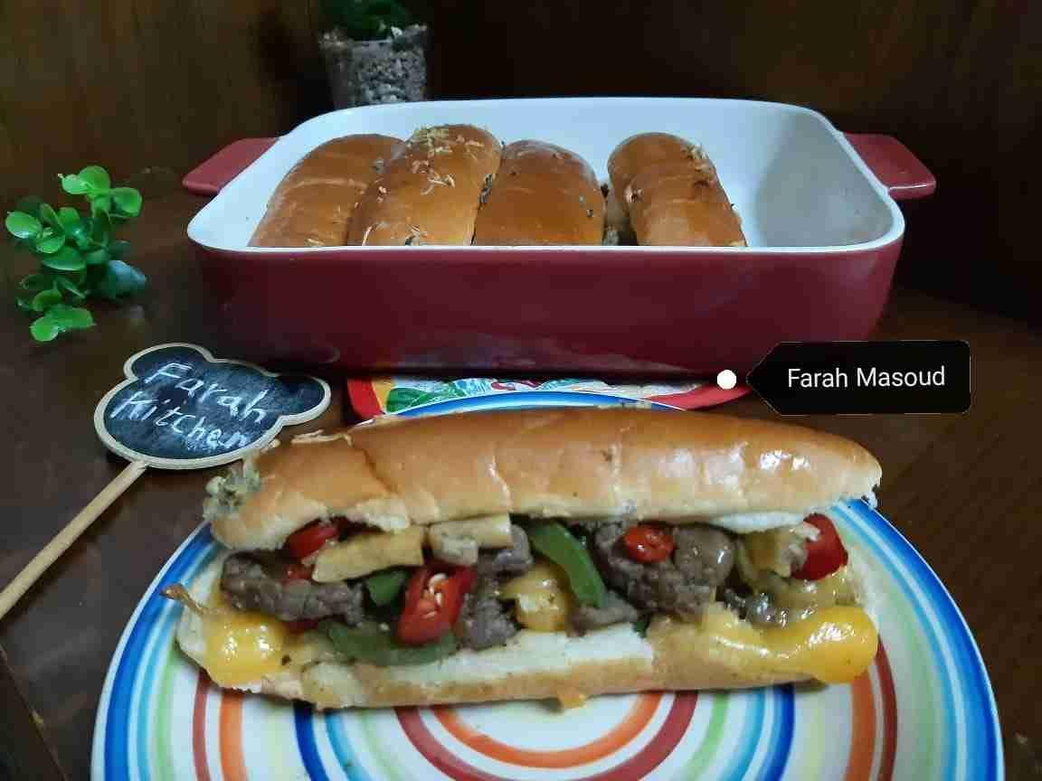 سندويشات فيلادلفيا ستيك زاكي Recipe Hot Dog Buns Food Main Dishes