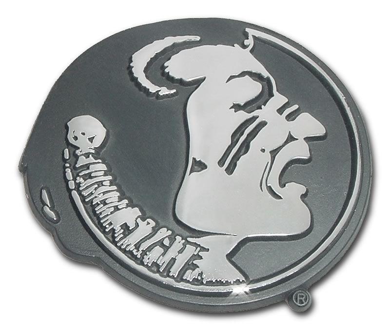 Florida State Seminole Chrome Emblem - Florida State