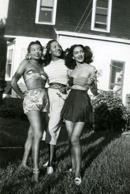 Vintage black babes