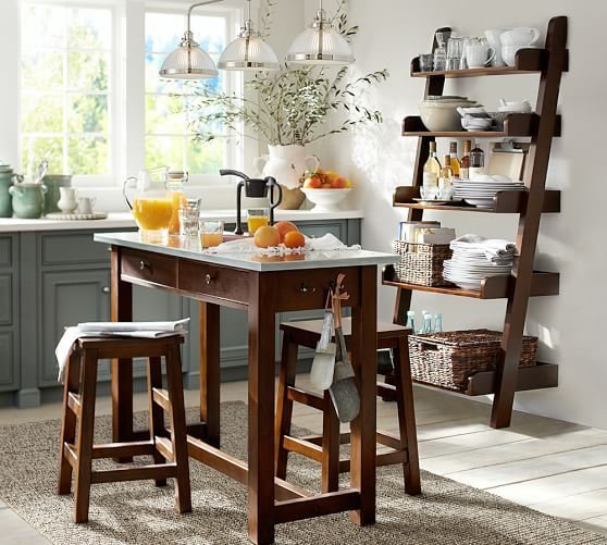 Breakfast Bar Idea   Good For Small Kitchens And Extra Bench Space. ALSO:  Colour · Counter Height TableLadder ...