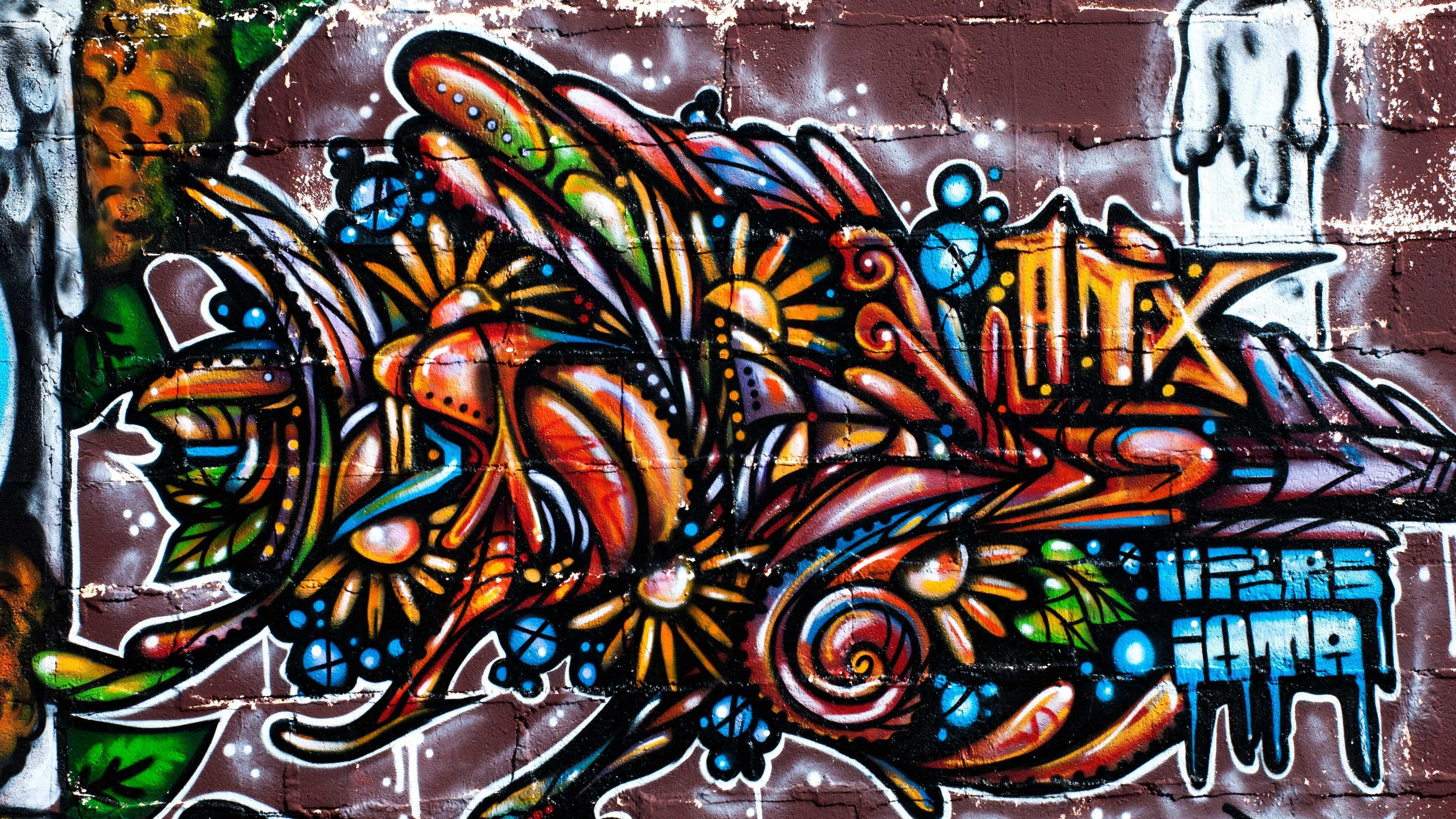 Cool Graffiti Wallpaper WallpaperSafari Seni jalanan