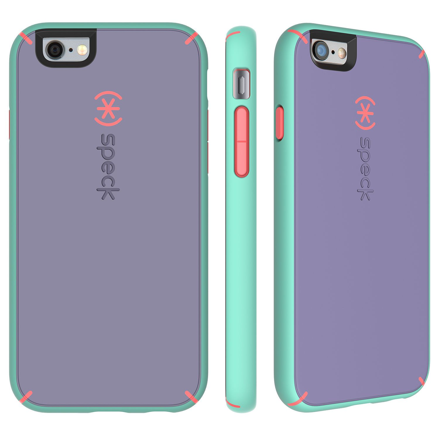 Mightyshell Iphone 6s 6 Cases Accessories Case Anti Crack Shock Softcase Ultrathin Clear Tpu Speck Heather Purple Warning Orange Aloe Green 4995 Plus