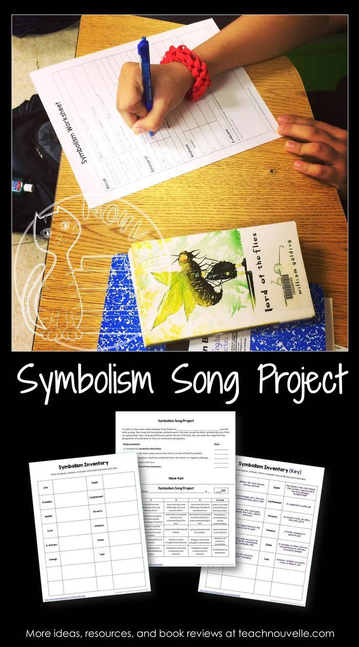 Symbolism Song Project English Language Arts Classroom Language Arts Classroom Middle School Language Arts [ 1325 x 736 Pixel ]