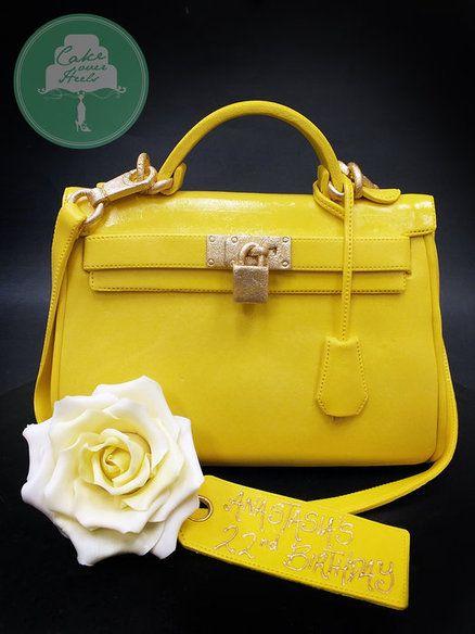 cf6ea9e5615 Life Sized Hermes Kelly Bag Cake
