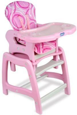 High Chair That Converts To A Table And Set