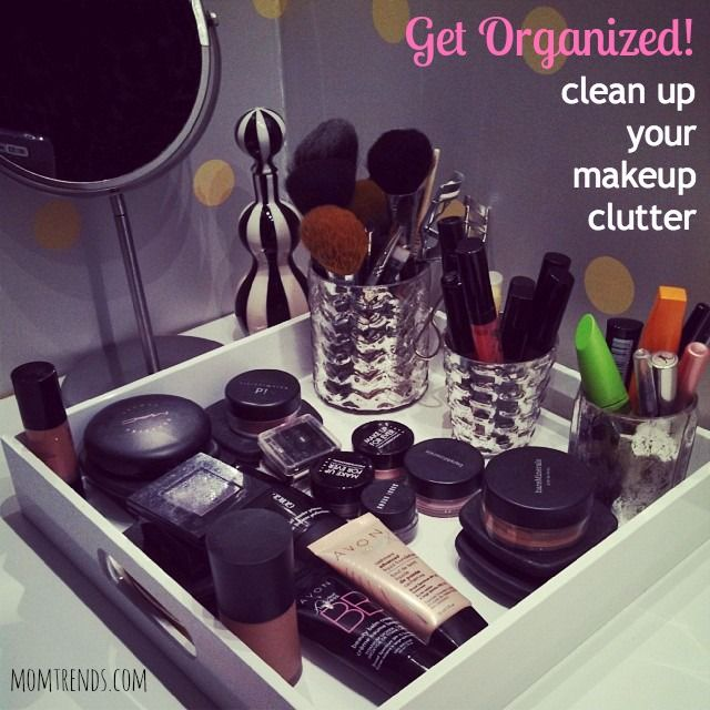 Great Organizing Your Makeup. Tips For Prettying Up Your Space. Itu0027s So Much  Easier To