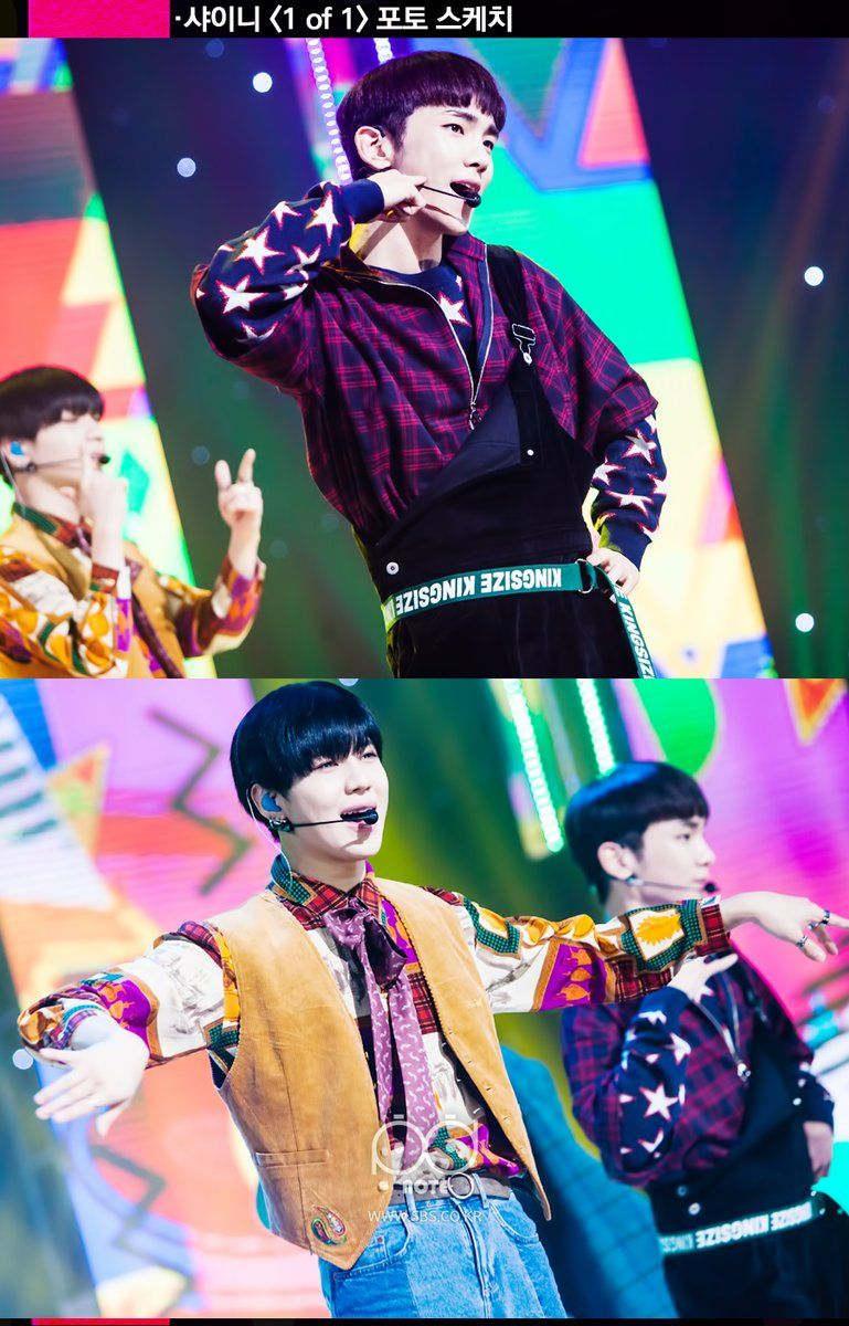 161026 #SHINee #1of1 - SBS Inkigayo Official Photo
