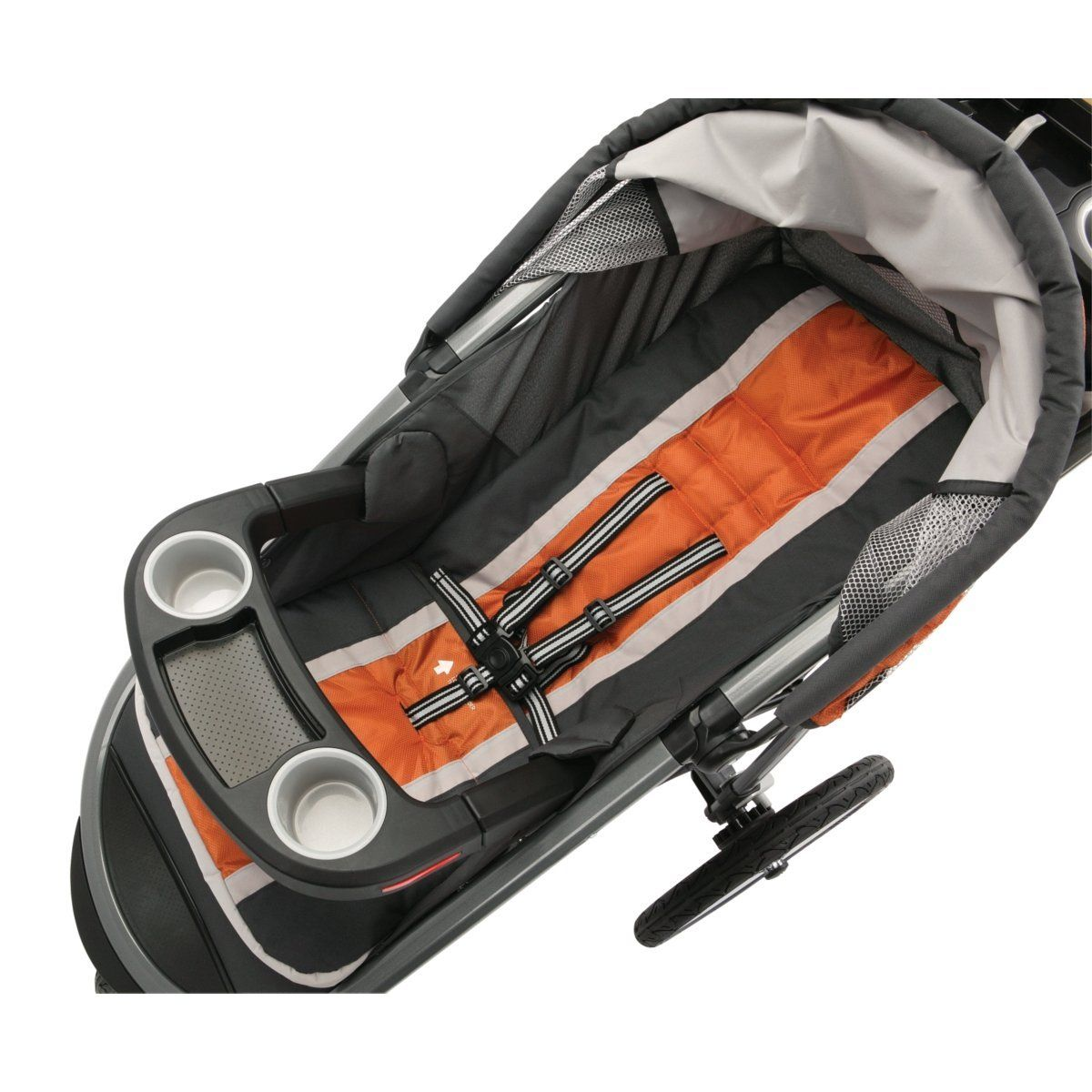 Graco FastAction Fold Jogger Click Connect Stroller, Tangerine - See more at: http://baby.florenttb.com/baby/strollers/joggers/graco-fastaction-fold-jogger-click-connect-stroller-tangerine-com/