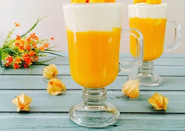 Resep Mango Thai Oleh Moona S Kitchen Resep Minuman Mango Buah