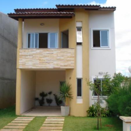 15 ideias de fachadas para sobrados pequenos e duplex for Fotos de casas modernas simples