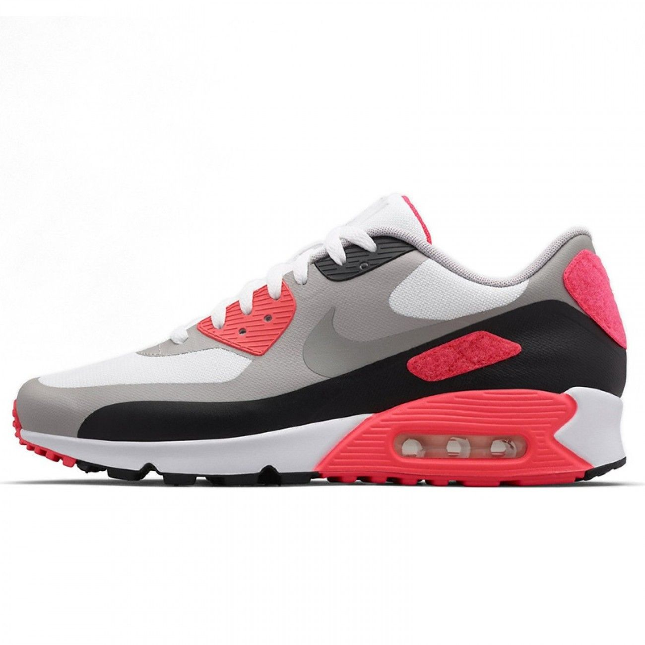 Nike Air Max 90 V Sp Patch White Cool Grey Infrared Red Shoes & Trainers  Sale at Cheap Prices.