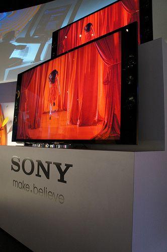 Sony CES 2013 - 4K resolution Sony TV