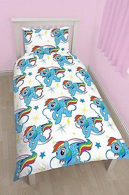My Little Pony Rainbow Dash Rotary Single Duvet Quilt