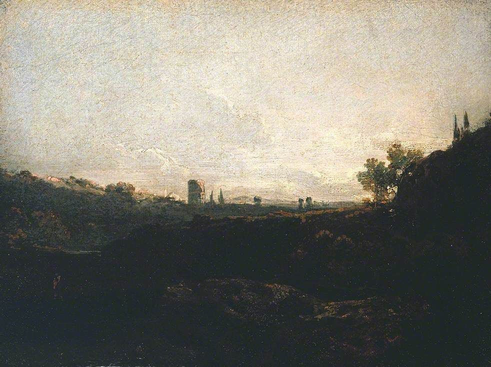 View of a Town