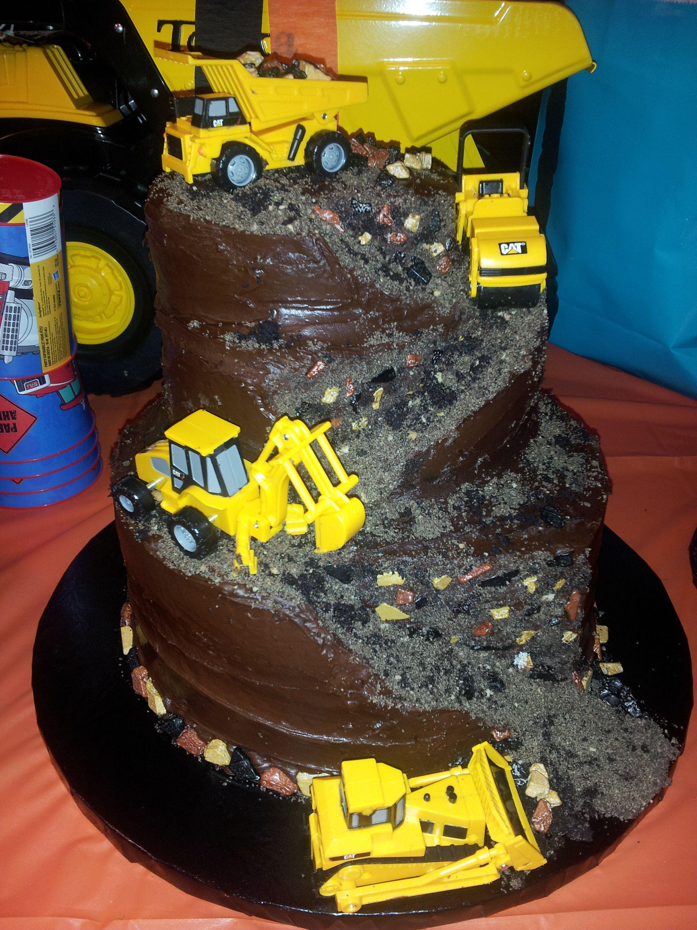 Tonka Truck Construction Chocolate Fudge Dirt Gravel Sand Rock