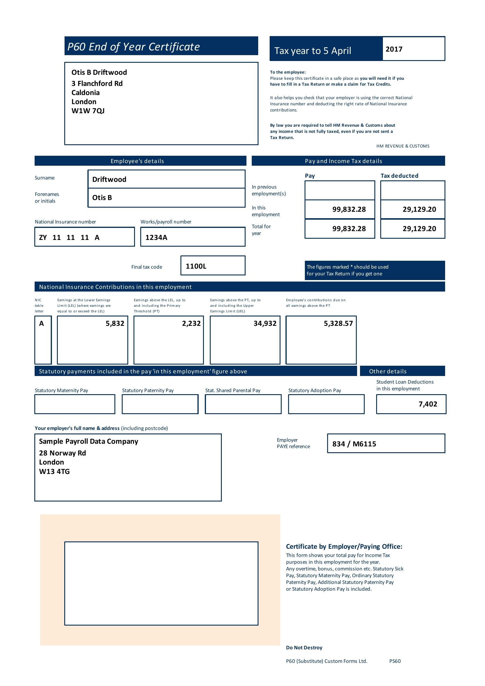 Buy Lost Or Damage Payslips Online At Lowest Price In Uk With