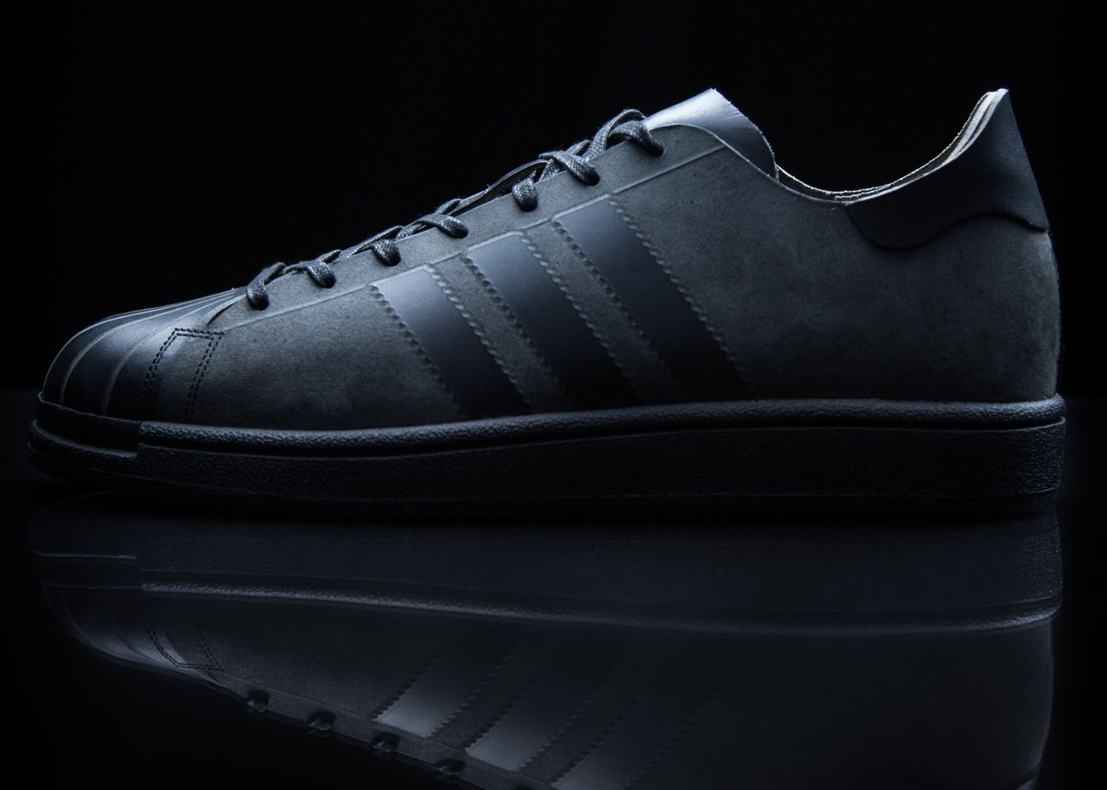 Alexander Taylor mills leather to create limited-edition shoe for Adidas.