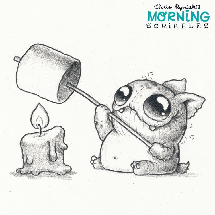 Pencil Drawings Of Monsters