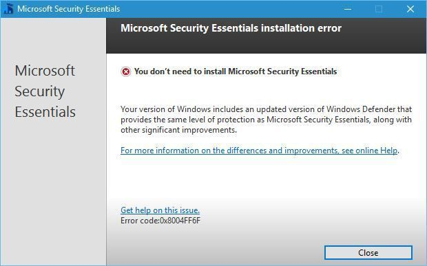 microsoft windows security essentials download